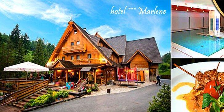 Rodinná dovolenka v hoteli Marlene***na Kysuciach, až 2 deti do 12 rokov zadarmo