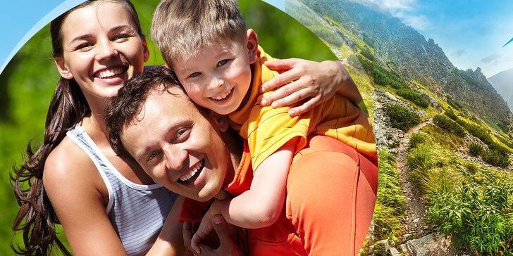 Skvelý pobyt pod Tatrami s polpenziou pre dvoch na 3–6 dní, dieťa do 10 r. úplne zadarmo