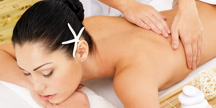 Terapeutické masáže podľa výberu: aromaterapeutická, anticelulitídna alebo regeneračná
