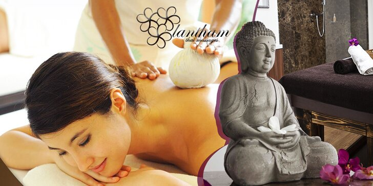 Luxusné thajské masáže - tradičná, aromaterapia alebo peeling