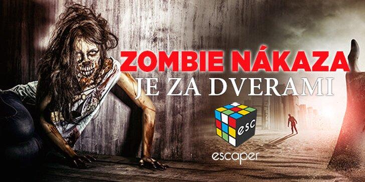 Jedna z posledných šancí! Uniknete zombie nákaze za 60 minút?