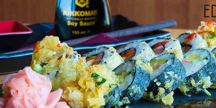 Ochutnajte pravé sushi z pravých rýb s príchuťou pravého Japonska!