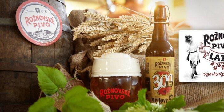 Pivný doktorát alebo wellness pobyt v Rožnovskom pivovare