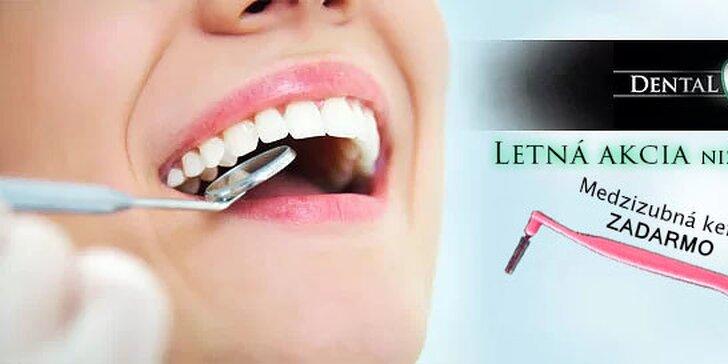 Top ambulantná dentálna hygiena alebo bielenie zubov - letná akcia za super cenu!