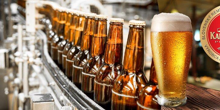 Ochutnávka špeciálnych druhov piva a k tomu prehliadka pivovaru Kaltenecker