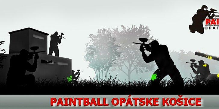 Paintball na tri hodiny pre 6 až 16 hráčov (1 kupón = 1 hráč)
