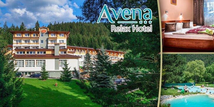 Rodinný wellness pobyt pre 2 osoby v Relax Hoteli*** Avena v Jánskej doline