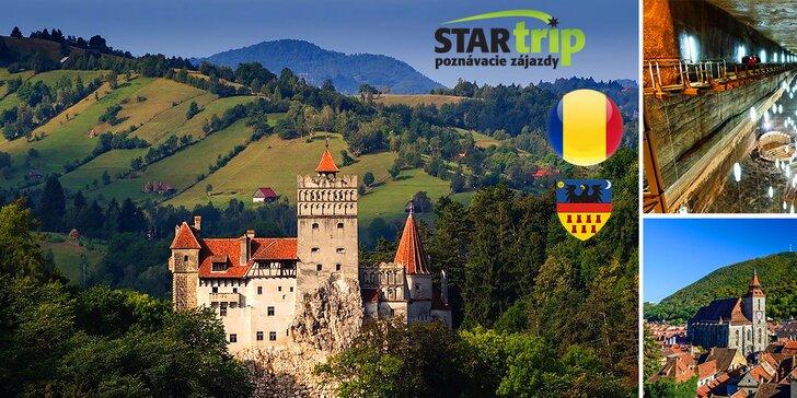 Vydajte sa po stopách grófa Drakulu do tajomnej rumunskej Transylvánie!