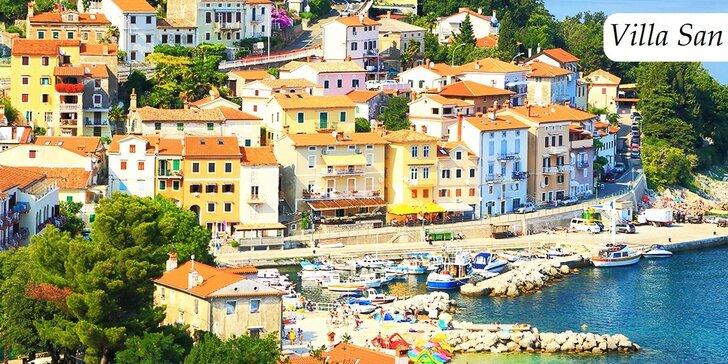 Dovolenka na 5 či 7 dní na Istrii s polpenziou pre dve osoby a dieťa do 6 rokov zdarma. Personál hovorí aj po slovensky!