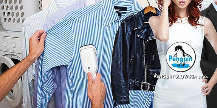 Čistenie všetkých druhov odevov so zľavou 40% a kožených odevov so zľavou 50%