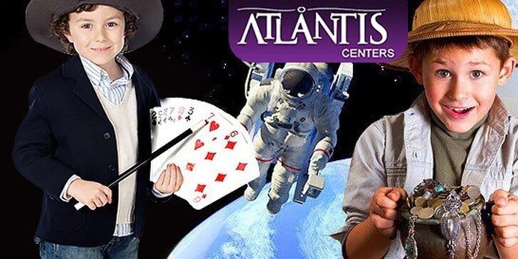 Denný náučný tábor v ATLANTIS Dome zážitkov