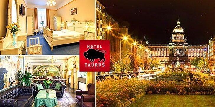 Pobyt pre 2 osoby v Hoteli Taurus **** Praha