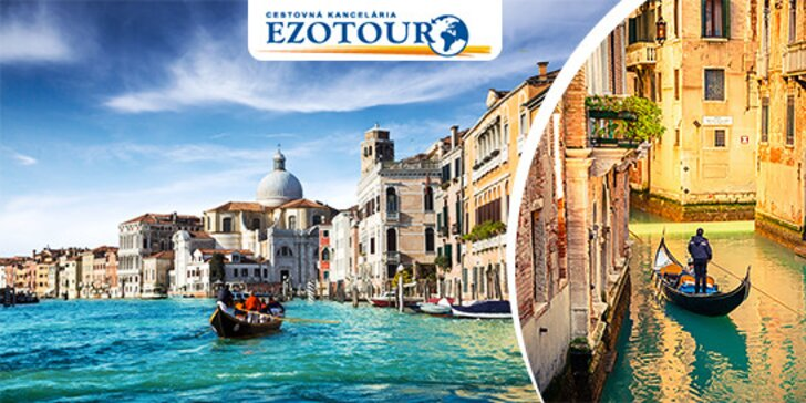 Poznávací zájazd do romantických Benátok