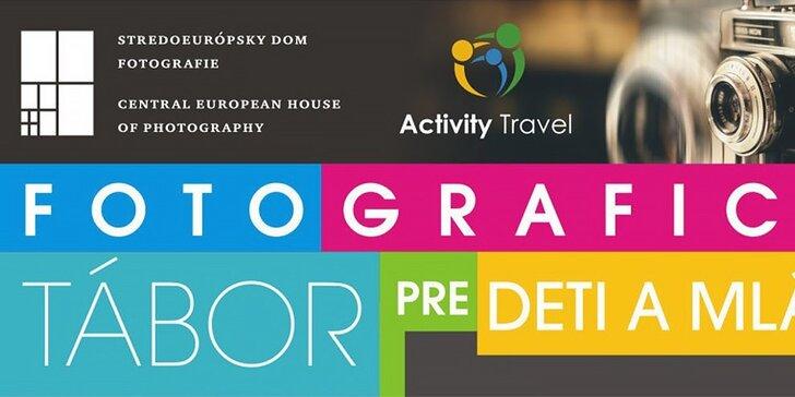 Fotografický tábor pre deti a mládež so Stredoeurópskym domom fotografie