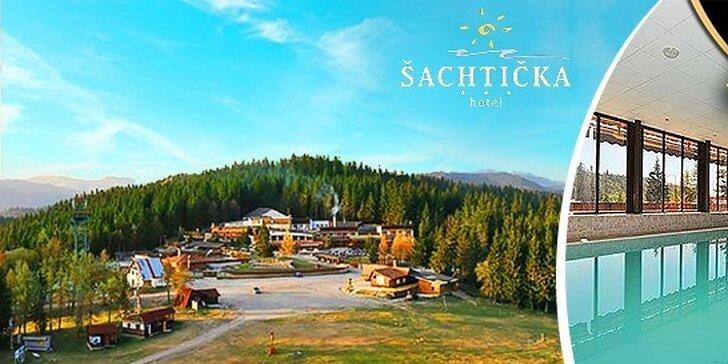Relax v najobľúbenejšom wellness hoteli Šachtička*** v Nízkych Tatrách, deti za zvýhodnené ceny, platnosť do konca septembra!