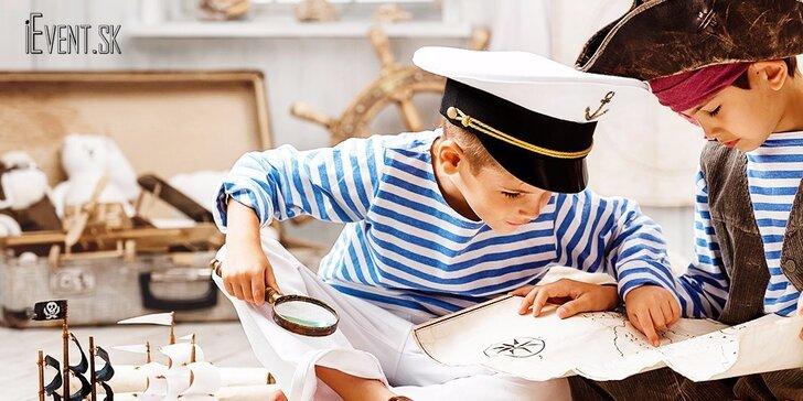 Pirátsky týždenný detský tábor pre všetky deti