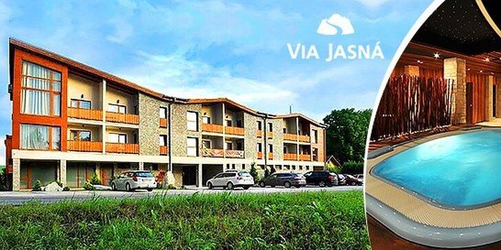 Luxusná letná rodinná dovolenka v apartmánoch Via Jasná****. Deti do 12 rokov zadarmo.