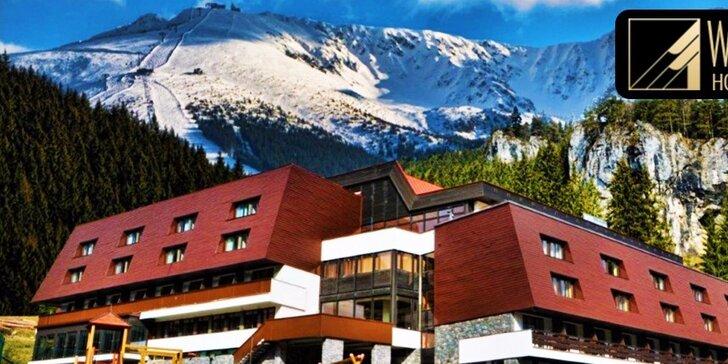 Nádherný pobyt vo Wellness Hoteli*** Repiská Demänovská Dolina