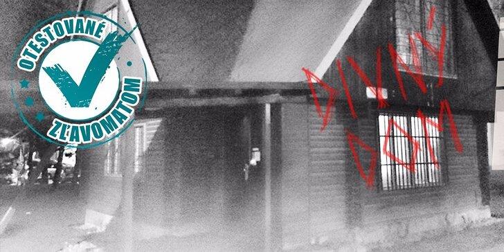 """Adrenalínová hra Escape Room """"Divný dom"""""""