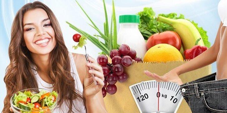 Vypracovanie jedálnička + konzultácia zdravého životného štýlu