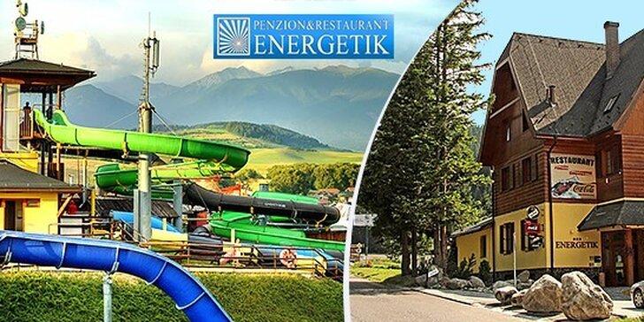 Rodinná dovolenka v Penzióne Energetik Jasná so vstupom do AQUAPARKU TATRALANDIA či GINO PARADISE BEŠEŇOVÁ