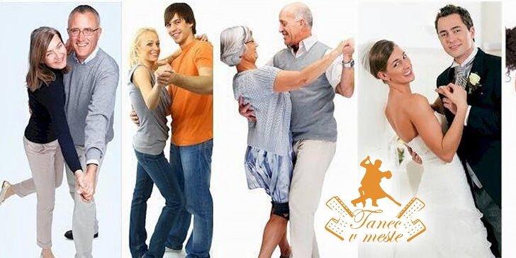 Jesenné lekcie spoločenských tancov v novootvorenom tanečnom centre - zvoľte si konkrétny deň kurzu!