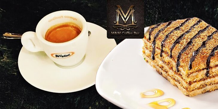 Káva s croissantom, marlenkou, so zmrzlinou alebo limonádou