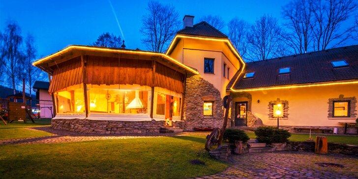 Relaxačný pobyt v štýlovom rodinnom penzióne v srdci Liptova, len 3 km od Bešeňovej a Aqua-Vital Park Lúčky!