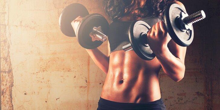 1 či 8 hodinových tréningov vo fitness centre NAYTILUS s osobným trénerom
