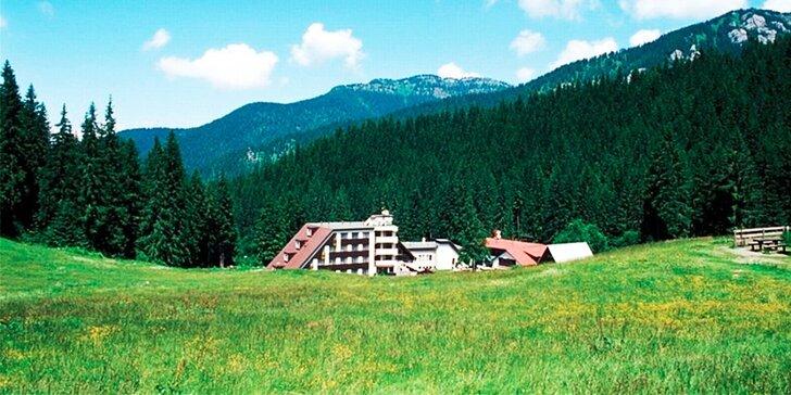 Hotel SKI - Fantastický pobyt v Demänovskej doline pod Chopkom, dieťa do 12 rokov zadarmo!