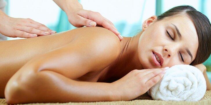 Hodinová masáž celého tela v Hoteli Bratislava