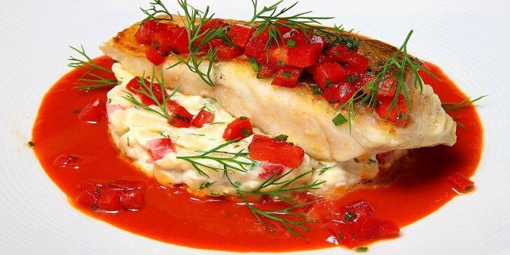 Luxusné degustačné menu Culinarium v Reštaurácii Cubes