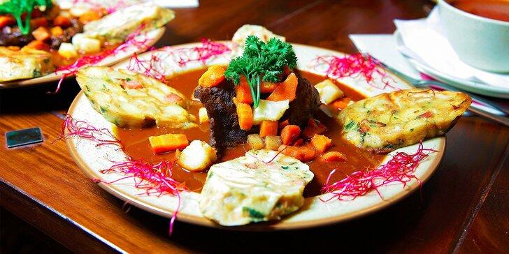 Jesenné degustačné menu v troch chodoch vo Vínnej muške