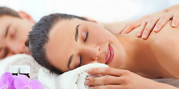 Klasická masáž s rašelinovým zábalom alebo bankovaním - aj pre páry