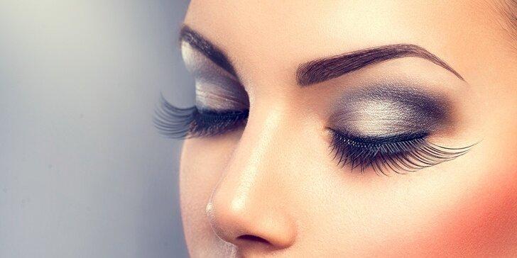 Očarujúce 4D mihalnice značky Goldlashes, permanentný make up obočia - 3D čiarkovanou metódou