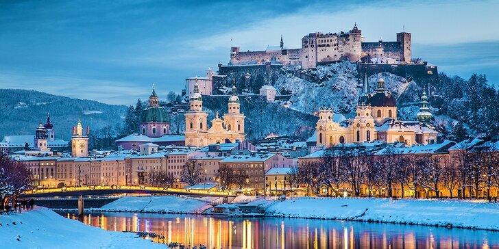 Adventný Salzburg s behom čertov a návštevou adventných dediniek