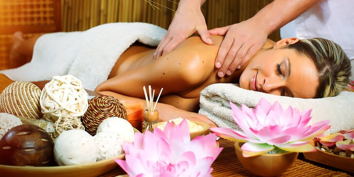 Klasické olejové masáže celého tela od Thajky
