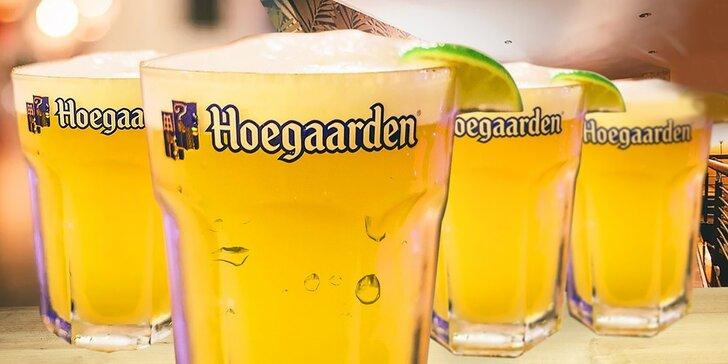 4x belgické pivá Hoegaarden 0,5l