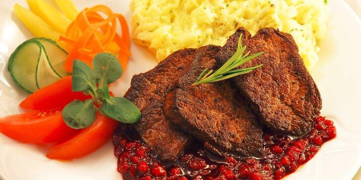 Degustačné menu pre dvoch v hoteli Malina***