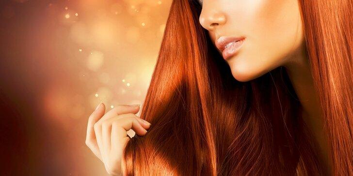 Strih, keratínové ošetrenie a farbenie vlasov
