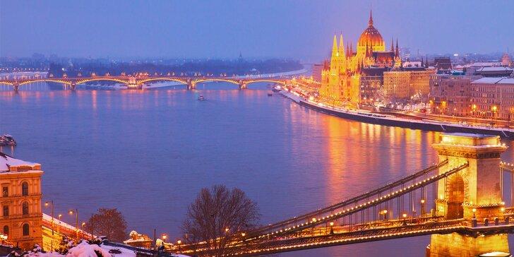 Adventný zájazd do Budapešti s možnosťou návštevy Tropicaria, 4 termíny a nástupné miesta z celého Slovenska