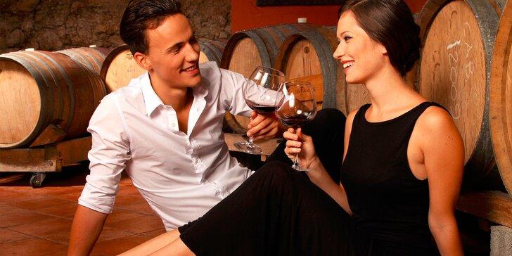 Pivnica plná vína - voľný degustačný program pre 1 osobu