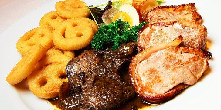 Degustačné menu pre jednu osobu v reštaurácii Hotela Maxim***