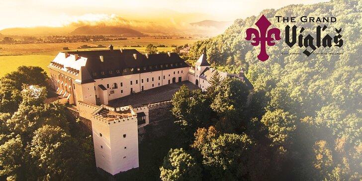 Darujte si kráľovský pobyt s luxusným wellness v zámockom Hoteli The Grand Vígľaš****