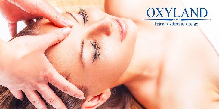 Omladzujúca očná kúra, spevňujúca masáž tváre alebo očná kúra v kombinácii s wellness pedikúrou