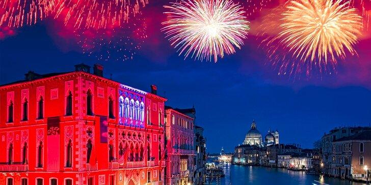3- alebo 4-dňový silvestrovský zájazd v Benátkach s možnosťou návštevy Verony