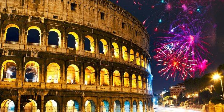Nezabudnuteľný Silvestrovský zájazd do Ríma