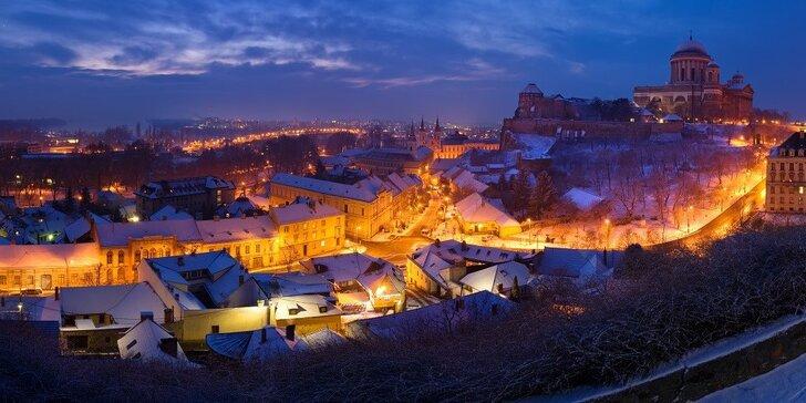 Navštívte jedinečný Ostrihom a rozprávkové vianočné trhy v Szentendre - bez príplatkov za nástup a s občerstvením v autobuse zdarma