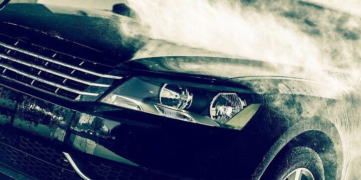 Ekologické čistenie exteriéru auta parou alebo ochrana laku