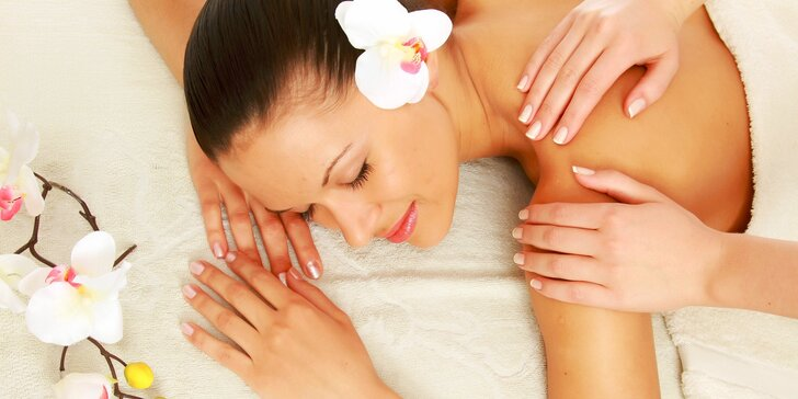 Hodinová relaxácia v podobe masáže
